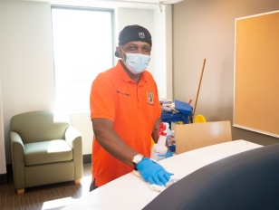 New Cleaning Protocols in Place for Fall Semester