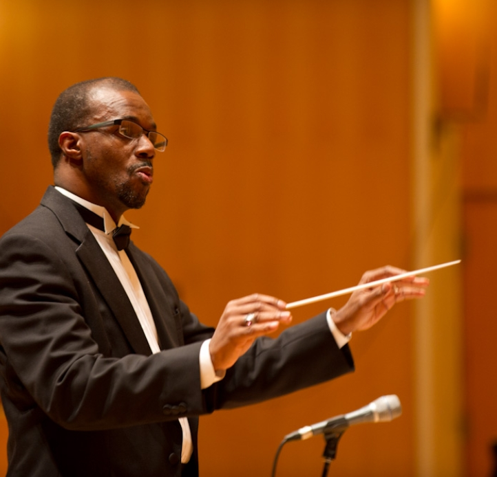 Ricky Fleming conducting