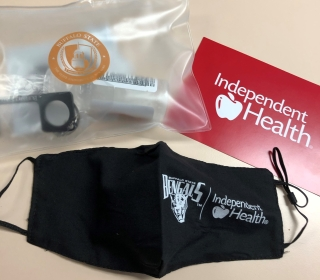 PPE kit for students with mask, sanitizer, and more