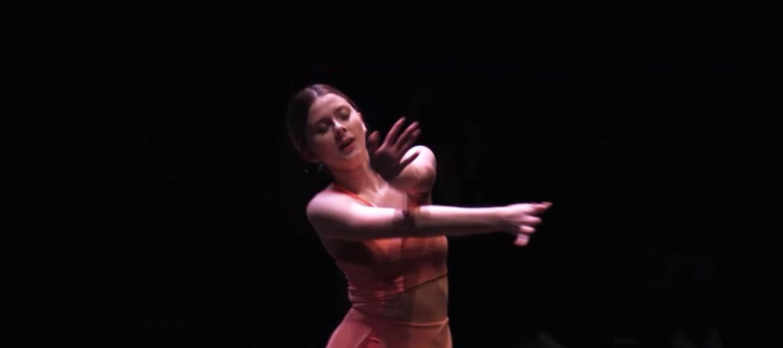 Rachel Repinz on stage.