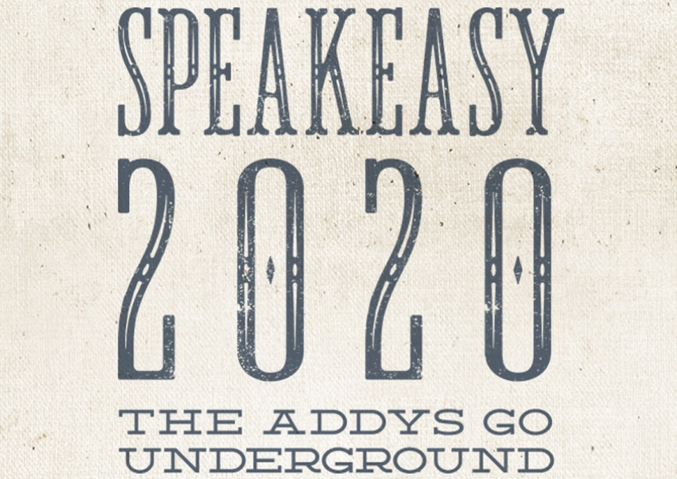 ADDY logo: Speakeasy 2020
